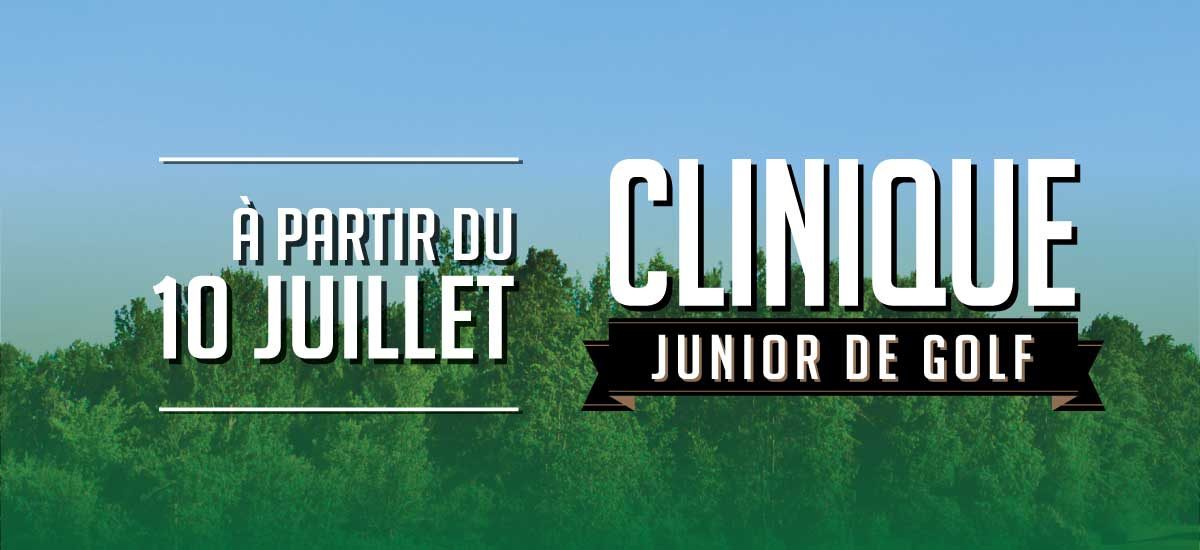 Clinique de golf junior